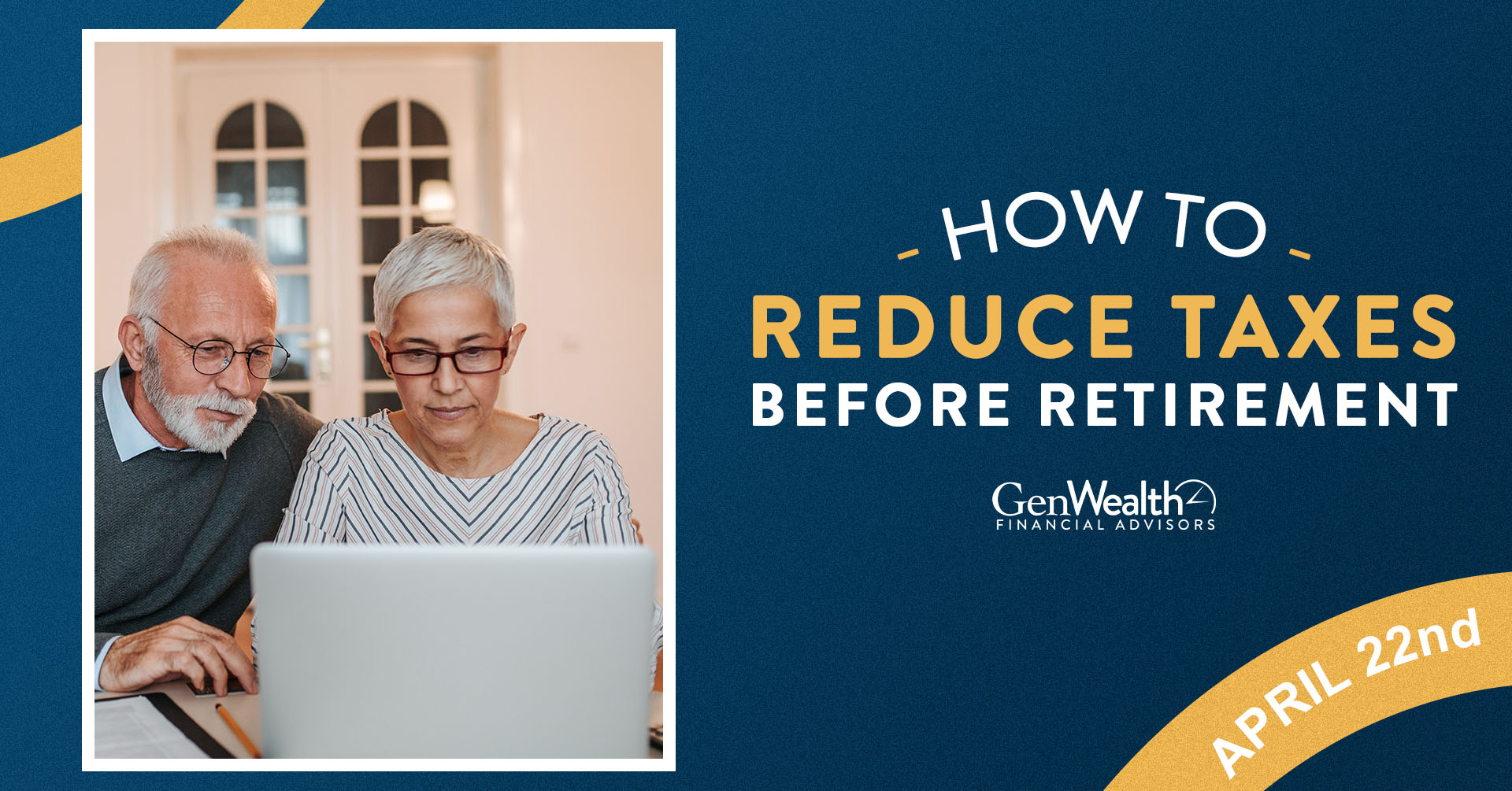 How To Reduce Taxes Before Retirement Header Image